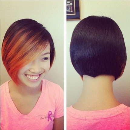 Ombre Bob Haircuts For Straight Hair – Capellistyle With Regard To Short Bob Hairstyles With Balayage Ombre (View 24 of 25)