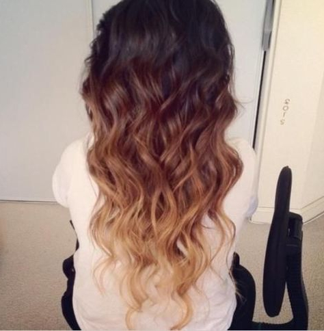 Ombré Brown, Strawberry Blond, Blond Love Ithair (View 8 of 25)