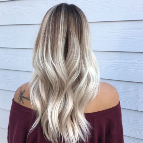 P I N || Darlynprincess | Balayage Hair, Hair Inspiration Intended For Lavender Balayage For Short A Line Haircuts (View 9 of 25)