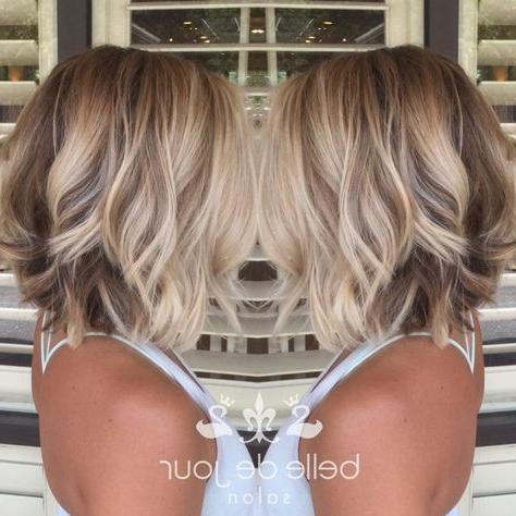 Perfect Blonde Balayage #Blonde #Balayage #Blondebalayage With Caramel Blonde Balayage On Inverted Lob Hairstyles (View 25 of 25)