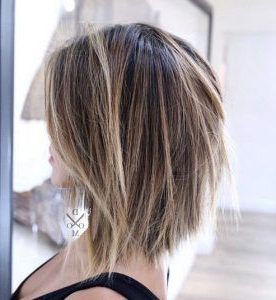 Pin En Hair & Makeup Intended For Warm Balayage On Short Angled Haircuts (View 5 of 25)