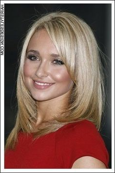 Pin On Beach Blonde In Chin Length Bangs And Face Framing Layers Hairstyles (View 13 of 25)
