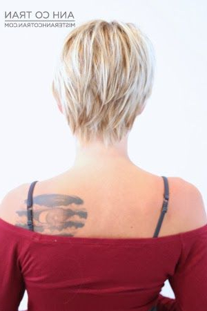Pin On Blonde Hair Ideas Regarding Sexy Long Pixie Hairstyles With Babylights (View 4 of 25)