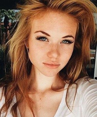 Pin On Girls In Marsala To Strawberry Blonde Ombre Hairstyles (View 14 of 25)