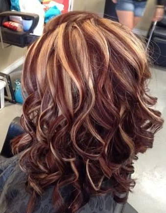 Pin On Great Hair For Natural Brown Hairstyles With Barely There Red Highlights (View 12 of 25)