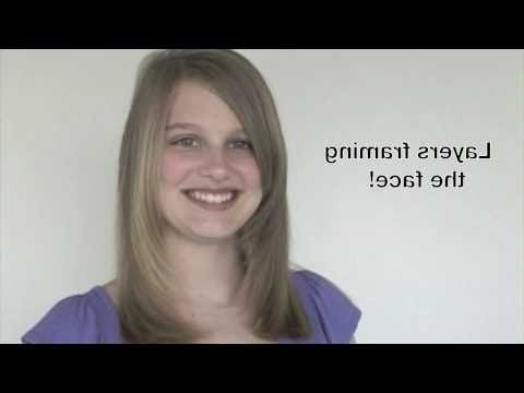 Pin On *H A I R* Throughout Lob Hairstyles With Face Framing Layers (View 19 of 25)