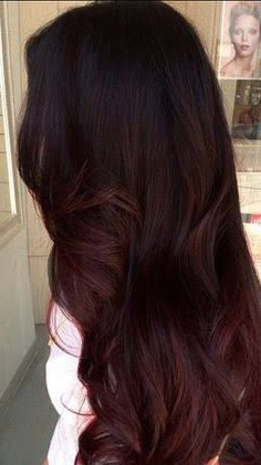 Pin On Hair In Natural Brown Hairstyles With Barely There Red Highlights (View 11 of 25)