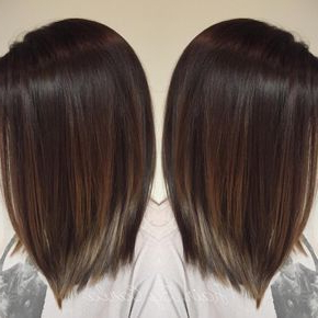 Pin On Hair Pertaining To Balayage Highlights For Long Bob Hairstyles (View 23 of 25)