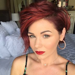 Pin On Hair Pertaining To Pixie Hairstyles With Red And Blonde Balayage (View 23 of 25)