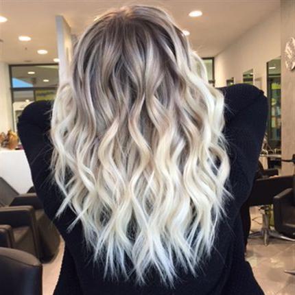 Pin On Hair Throughout Blonde Balayage Hairstyles (View 19 of 25)