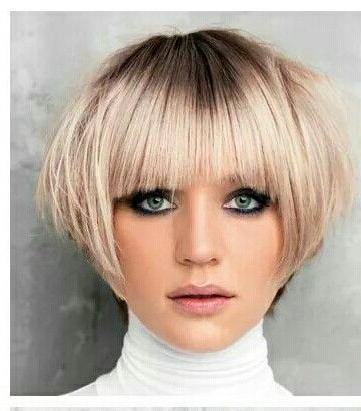 Pin On Hairchitecture Within Half Bob Half Pixie Hairstyles With Cool Blonde Balayage (View 24 of 25)