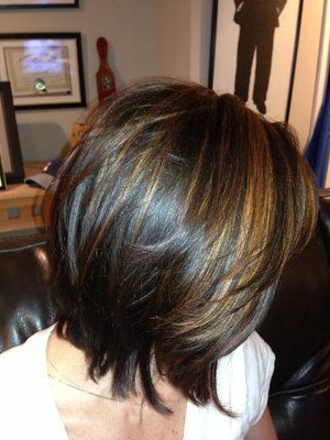Pin On Haircut&Color For Cool Toned Angled Bob Hairstyles (View 13 of 25)