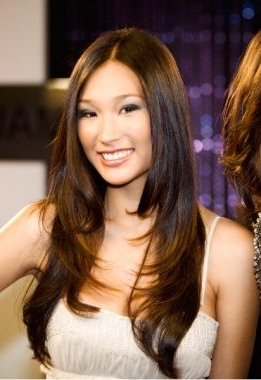 Pin On Hairstyles For Chin Length Bangs And Face Framing Layers Hairstyles (View 25 of 25)