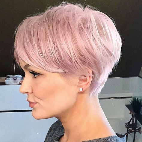 Pin On Hairstyles For Pixie Hairstyles With Red And Blonde Balayage (View 21 of 25)