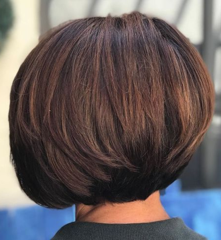 Pin On My Style With Cinnamon Balayage Bob Hairstyles (View 17 of 25)