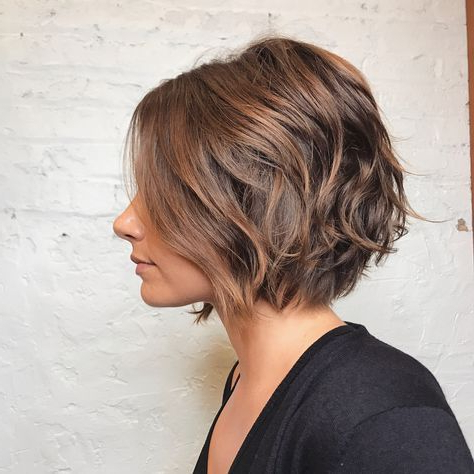 Pingloria Roberts On Beauty | Hair Styles, Short Hair With Bronde Balayage For Short Layered Haircuts (View 12 of 25)
