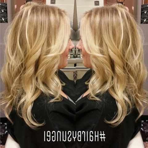Pinheidi Smith On The Art Of Hair// Instagram @Singi For Balayage Highlights For Long Bob Hairstyles (View 14 of 25)