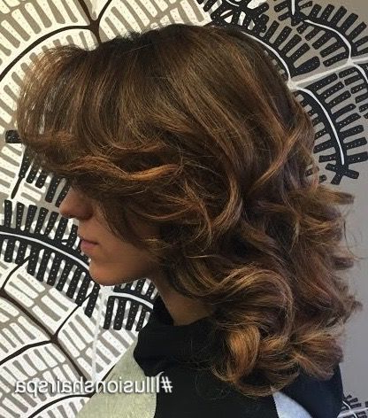 Pinillusions Hair Spa On Balayage & Ombre Short Hair With Regard To Beachy Waves Hairstyles With Balayage Ombre (View 22 of 25)