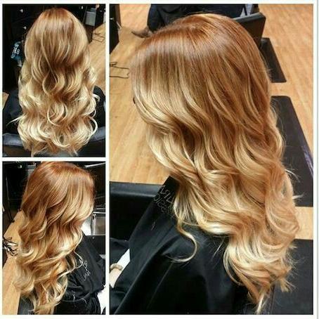 Pinjennifer Mckenzie On Hair Styles | Strawberry Within Strawberry Blonde Balayage Hairstyles (View 3 of 25)