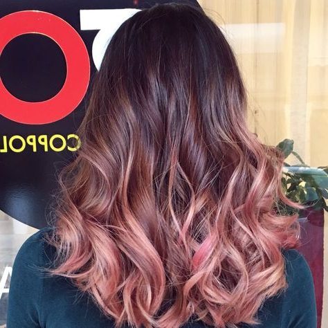 Pink Ombre Hair (View 22 of 25)