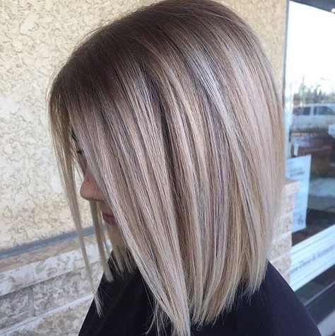 Pinmargret On Brown On Blond   Hair Styles, Blonde Bob Pertaining To Cinnamon Balayage Bob Hairstyles (View 7 of 25)