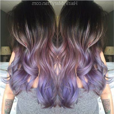 Pinmarie Claude Larose On Hair Styles | Hair Styles Regarding Lavender Balayage For Short A Line Haircuts (View 24 of 25)