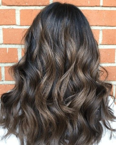 Pinmegan Wells On Hairstyles   Brown Hair With Within Chestnut Short Hairstyles With Subtle Highlights (View 2 of 25)