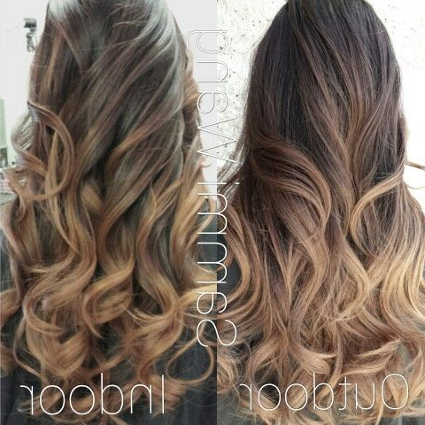 Pinmelissa Paxton On Balayage Ombre   Biolage Hair Within Ash Blonde Balayage Ombre On Dark Hairstyles (View 10 of 25)