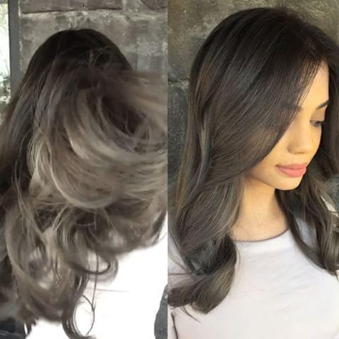 Pinoh Alise On Hairsept2017   Black Hair Balayage Pertaining To Blonde Balayage On Short Dark Hairstyles (View 19 of 25)