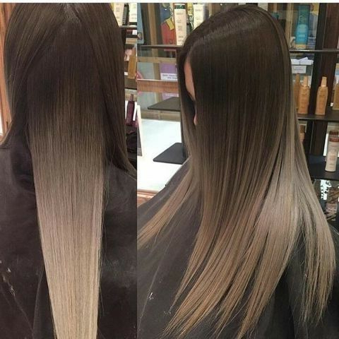 Pinterest: @ Gaaabbriellaa ?   Hair Color Flamboyage For Ash Blonde Balayage Ombre On Dark Hairstyles (View 18 of 25)