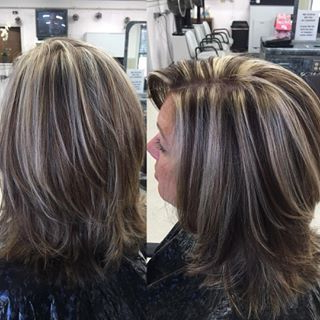 Pinterest Share Dialog …   Transition To Gray Hair, Hair Within Short Hairstyles With Delicious Brown Coloring (View 15 of 25)