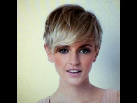 Pixie Haircut With Long Bangs Photos   Fashion Tips – Youtube With Regard To Sexy Long Pixie Hairstyles With Babylights (View 7 of 25)