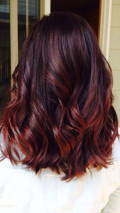 Red Balayage Hairstyle For Women | Fashionlookstyle Intended For Pixie Hairstyles With Red And Blonde Balayage (View 11 of 25)