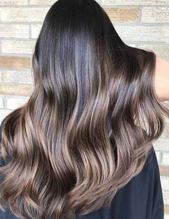 Resultado De Imagem Para Dark Brown Balayage On Black Hair For Blonde Balayage On Short Dark Hairstyles (View 13 of 25)