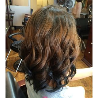Reverse Ombre Hair Brown To Black – Google Search For Dimensional Dark Roots To Red Ends Balayage Hairstyles (View 18 of 25)