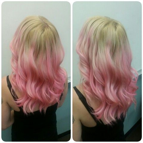 Rosey Pink Balayage | Balayage, Long Hair Styles, Hair Styles Throughout Balayage Highlights For Long Bob Hairstyles (View 20 of 25)