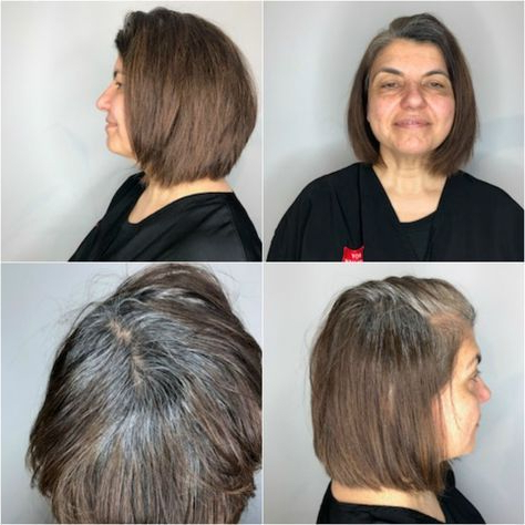 Shaggy Blonde Bob | Gray Hair Growing Out, Gray Hair Throughout Shaggy Bob Hairstyles With Face Framing Highlights (View 18 of 25)
