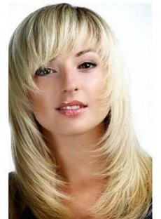 Shop Wigsstyle & Price, Find Most Popular Wigs Online For Choppy Layers Hairstyles With Face Framing (View 12 of 25)