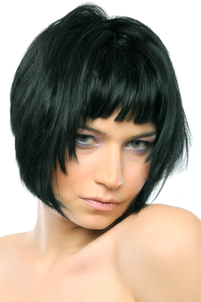 Short Bob With Uneven Choppy Bangs In Shaggy Bob Hairstyles With Face Framing Highlights (View 16 of 25)