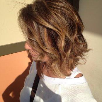 Short Hair Balayage, Carlton Hair, Short Bob Hairstyles With Regard To Cinnamon Balayage Bob Hairstyles (View 18 of 25)