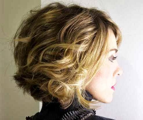 Short Hair Style Guide And Photo: Brown Hair With Blonde Inside Short Hairstyles With Delicious Brown Coloring (View 3 of 25)