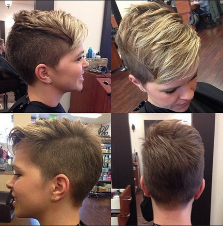 Short Pixie Cuts For 2015 In Pixie Hairstyles With Red And Blonde Balayage (View 16 of 25)