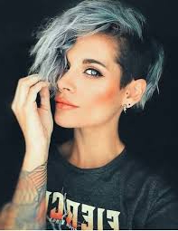 Short Spunky Haircuts – Google Search In 2020 | Short Pertaining To Half Bob Half Pixie Hairstyles With Cool Blonde Balayage (View 17 of 25)