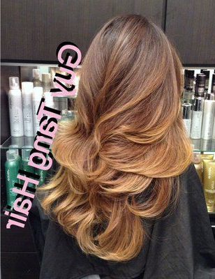 Smoked Ash On Ombre On Asian Hairguy Tang   Yelp Regarding Ash Blonde Balayage Ombre On Dark Hairstyles (View 7 of 25)