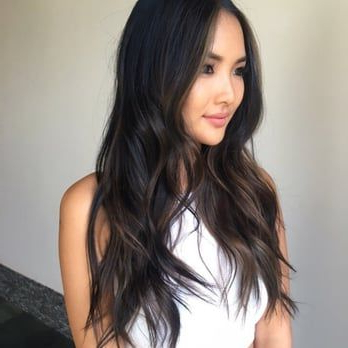 Soft Blending Chocolate Subtle Ombre On Asian Hair – Yelp For Subtle Balayage Highlights For Short Hairstyles (View 24 of 25)
