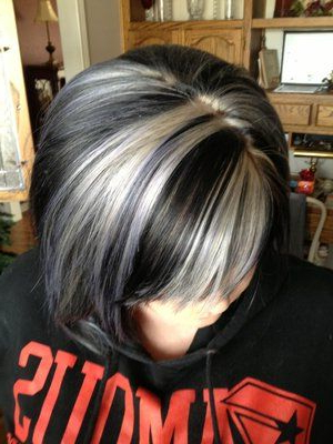 Some Blonde Added To Dark Brown Hair (View 21 of 25)