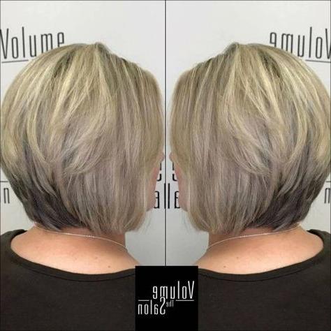 Stacked Ash Blonde Bob   Short Hair Styles, Bob Hairstyles With Ash Blonde Balayage For Short Stacked Bob Hairstyles (View 23 of 25)