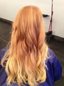 Strawberry Blond Ombre (View 16 of 25)