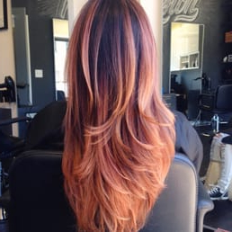 Strawberry Blonde Ombre And Balayage – Yelp For Strawberry Blonde Balayage Hairstyles (View 15 of 25)