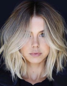 Stunning Long Bob Haircut With Layers Regarding Lob Hairstyles With Face Framing Layers (View 12 of 25)